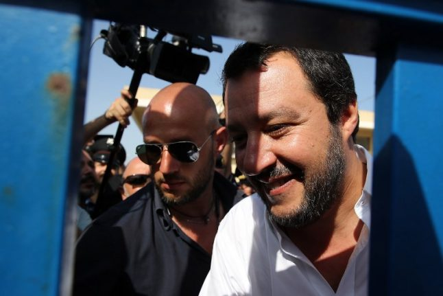 Italy cannot be 'Europe's refugee camp': Matteo Salvini
