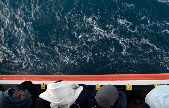 Hundreds of migrants stranded at sea amid standoff between Italy and Malta