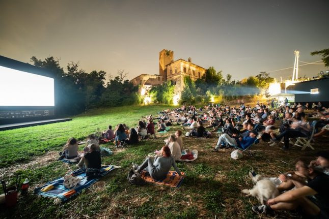 The most spectacular places to see outdoor cinema in Italy this summer