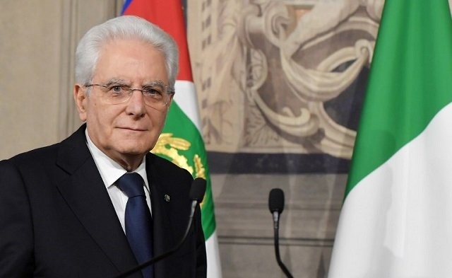 Italy's president: 'Talk of closing borders is irresponsible'