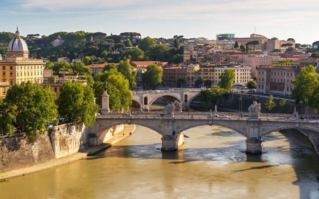 Beach on the Tiber River in Rome to open by August