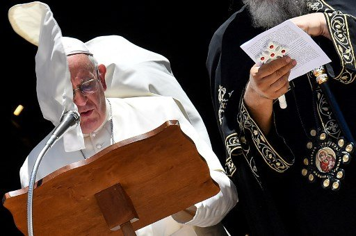 'Indifference kills': Pope fears Christians will disappear from the Middle East
