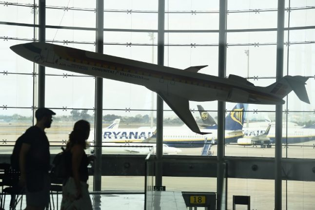 Ryanair cancels more than 100 flights in Italy as cabin crew strike