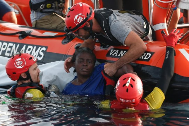 Italy refuses to take in drowned bodies according to Spanish NGO