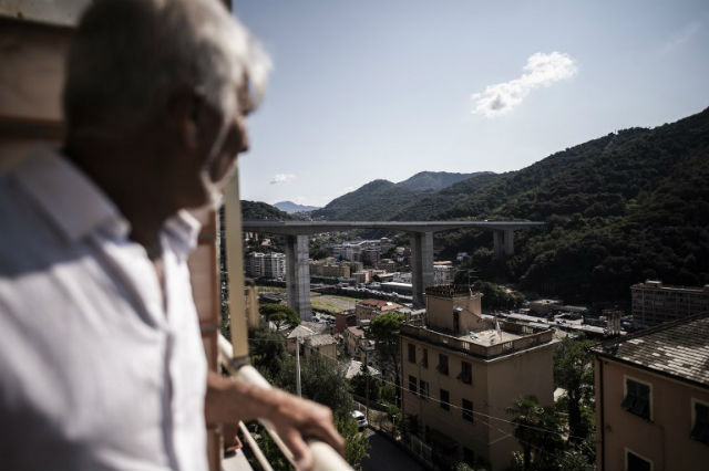 After Genoa disaster, locals look differently at city's bridges