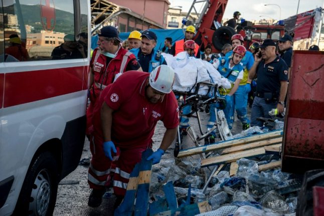 Search for survivors after deadly Italy bridge collapse