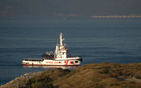 Migrant rescue ship docks in Spain again after Italy refusal