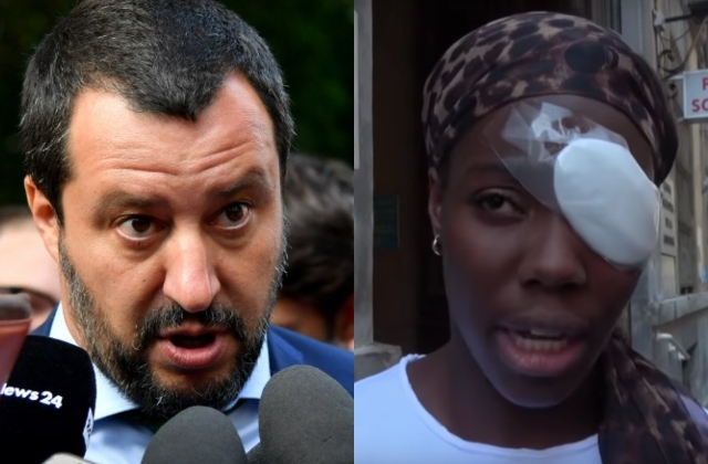 Italy's Salvini demands apology after declaring athlete egg attack 'not racist'