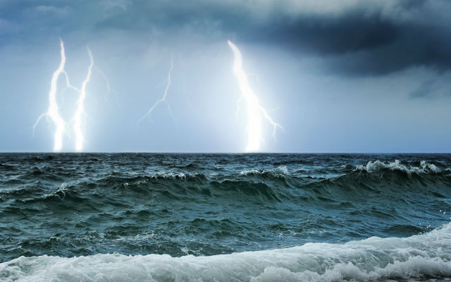 Storms forecast on east coast for Ferragosto summer holiday