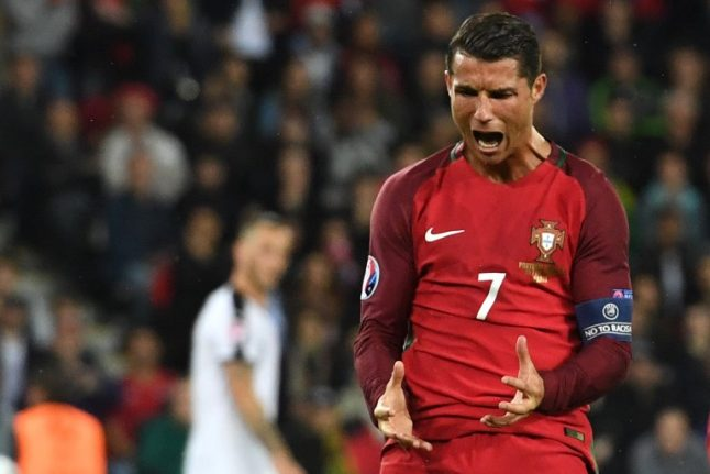 Ronaldo 'furious' to lose out to Modric in UEFA player of the year award