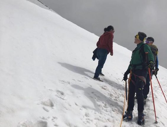 'Please stop climbing mountains in jeans and trainers,' Italy's alpine rescue team pleads