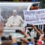 Pope Francis silent on claim he ignored abuse