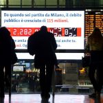 Fitch ratings agency says Italian debt outlook now 'negative'
