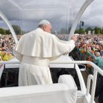 Protestant Latvia welcomes pope