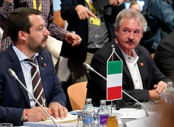 Luxembourg foreign minister compares Italy's Matteo Salvini to fascist