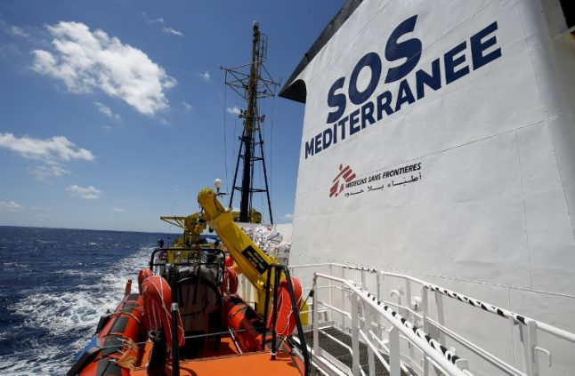 'Go wherever you want, but not to Italy': Salvini denies entry to Aquarius migrant rescue boat, again