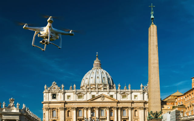 South African expelled from Italy for flying drone near the Vatican