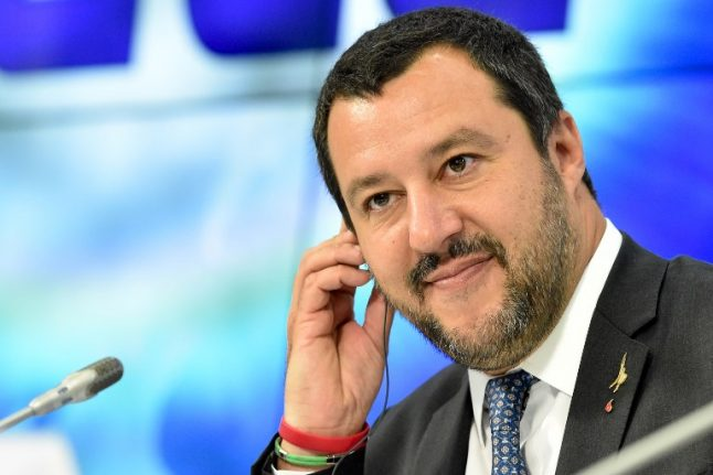 Italy's Salvini touts plan to 'save Europe' after Bannon talks