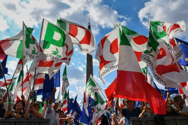 Italy's shattered Democratic Party tries to bounce back
