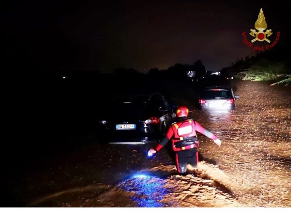 Calabria flooding claims mother and son