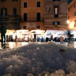 Hailstorm in Rome as wave of extreme weather hits central and southern Italy