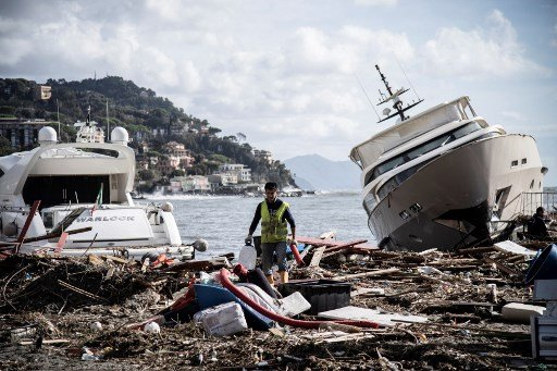 Veneto and Liguria count the cost of storms and flooding