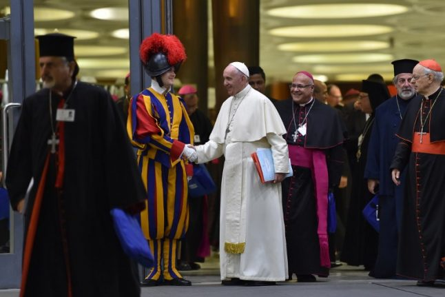 Sex is the elephant in the room at Vatican youth synod