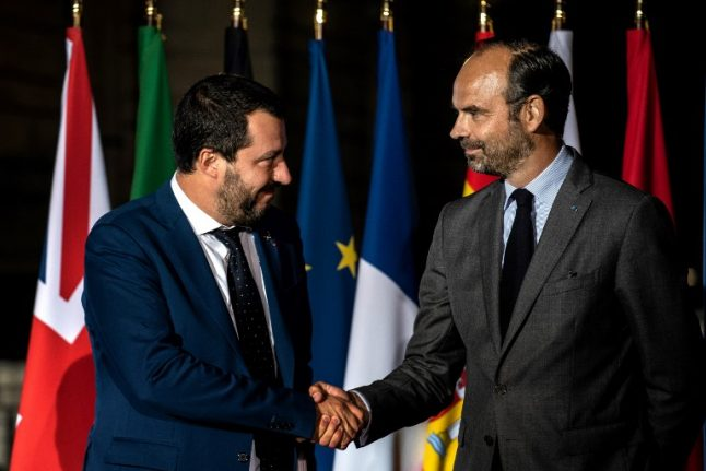Tensions between Italy and France as ministers meet on immigration