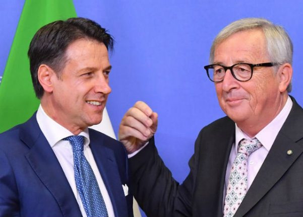 Italy PM 'confident' Rome won't get EU fines for budget