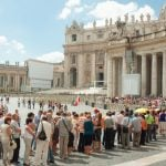 Record numbers of tourists are arriving in Italy, study shows