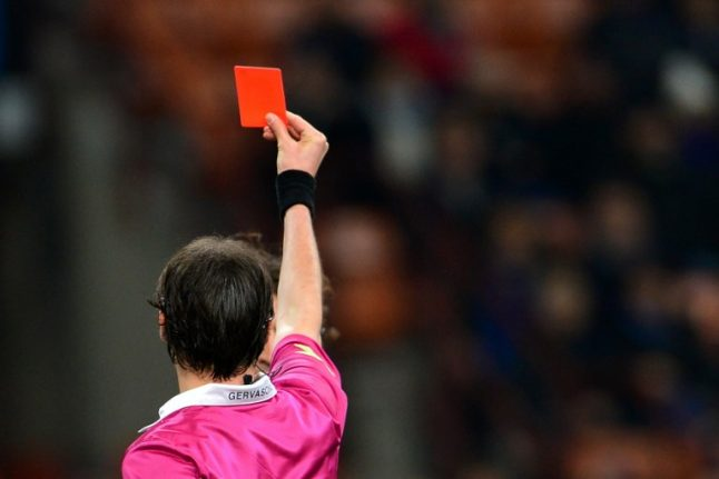 Italy promises crackdown on violence against football refs