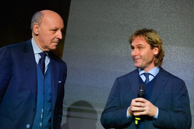 Marotta rings the changes as crisis-hit Inter tackle Napoli