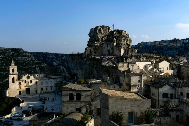 Italy's city of shame Matera becomes Europe's pride