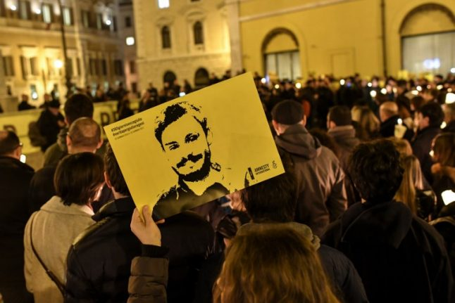 Italy probes five Egyptian police over Giulio Regeni murder: reports