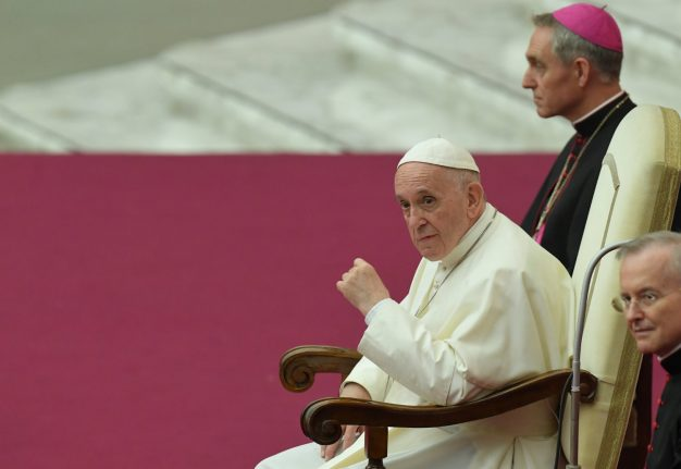 Being gay is 'fashionable', has no place in Catholic clergy: Pope Francis