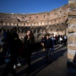 Tourist caught trying to steal a brick from Rome's Colosseum