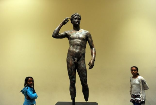 Can Italy force a US museum to return this long-lost Ancient Greek sculpture?