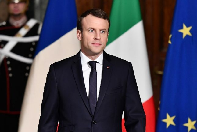 France's Macron says he won't be baited by Italian populists