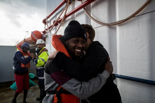 Italy to take in some of Sea Watch migrants as part of international deal