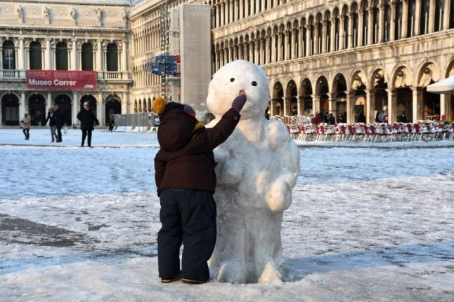 Snow and frost forecast on Adriatic coast in Italy this week