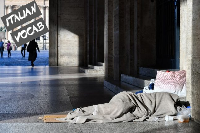 Tenth homeless person dies during Rome's cold snap