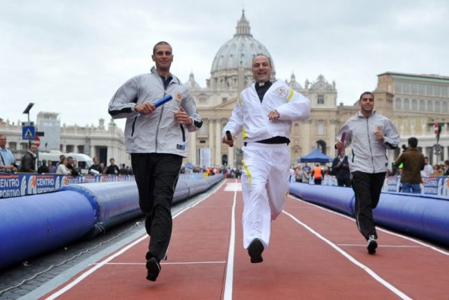 Nuns on the run: Vatican launches its first athletics team