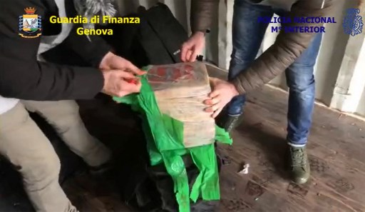 Italy thwarts Colombian cartel with massive cocaine haul