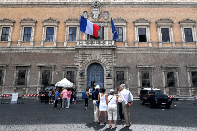 Presidents attempt to mend frayed Italian-French relationship