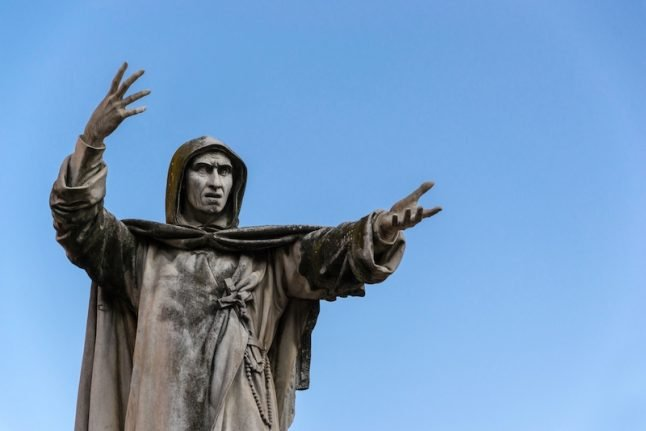 Meet the mad monk of Florence, the man behind Italy's Bonfire of the Vanities