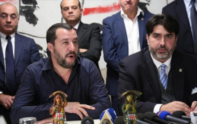 Right-wing triumphs in Sardinia's local elections
