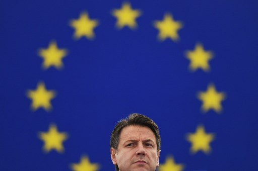 Italian PM faces anger after calling for change in Europe