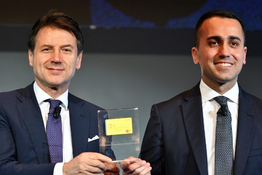 Italy's government launches 'citizens' income' website
