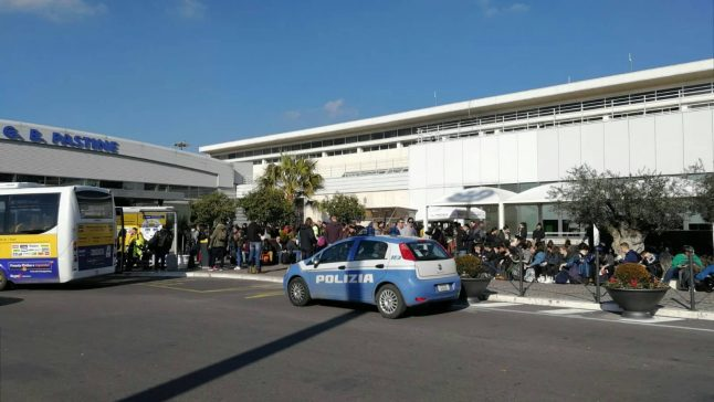 Rome's Ciampino airport closed after three WW2 bombs found