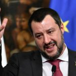 Protests as Salvini visits construction site for controversial high-speed trainline